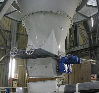 Extracteur de fond de silo